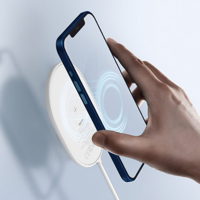 wireless chargers - baseus light wireless induction charger for iphone 12