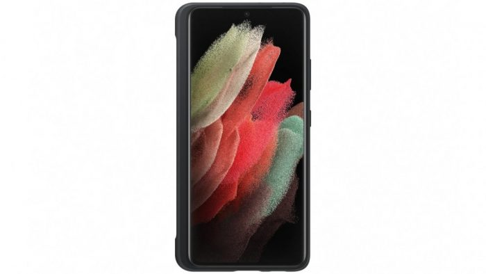 s21 ultra - samsung galaxy s21 ultra ef-pg99ptb s pen black silicone cover - 3 - krytarna.cz