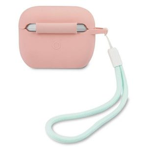 AirPods - Guess GUACAPLSVSPG Apple AirPods Pro cover pink green Silicone Vintage - 2 - krytarna.cz