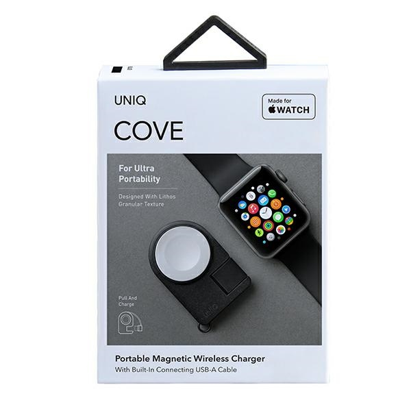 wireless chargers - uniq wireless charger cove charcoal black - 8 - krytarna.cz