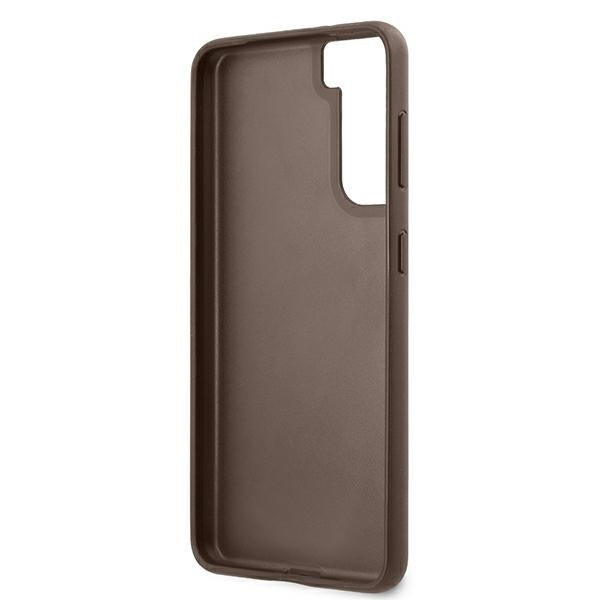 s21 - guess guhcs21sg4gfbr samsung galaxy s21 brown hard case 4g metal gold logo - 7 - krytarna.cz
