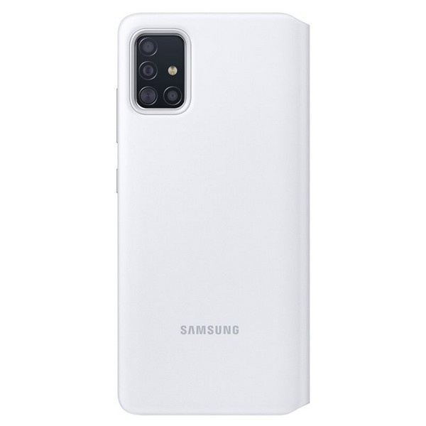 a51 - samsung galaxy a51 ef-ea515pw white s view wallet cover - 2 - krytarna.cz