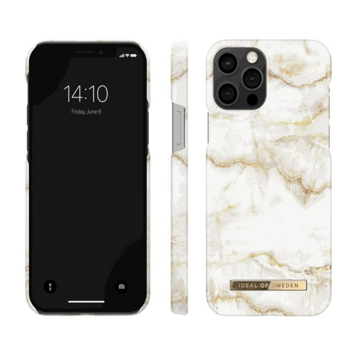 iphone 12 pro - ideal of sweden apple iphone 12/12 pro (golden pearl marble) - 2 - krytarna.cz