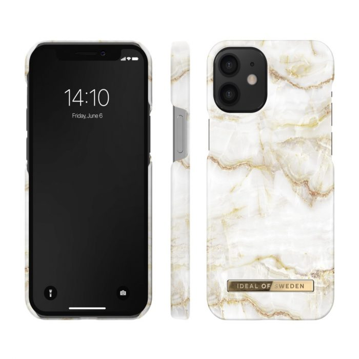 iphone 12 mini - ideal of sweden apple iphone 12 mini (golden pearl marble) - 2 - krytarna.cz