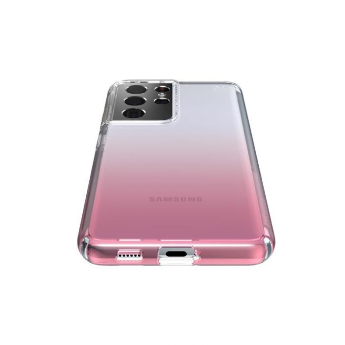 s21 ultra - speck presidio perfect-clear + ombre - case samsung galaxy s21 ultra with microban (clear/atmosphere fade) - 3 - krytarna.cz