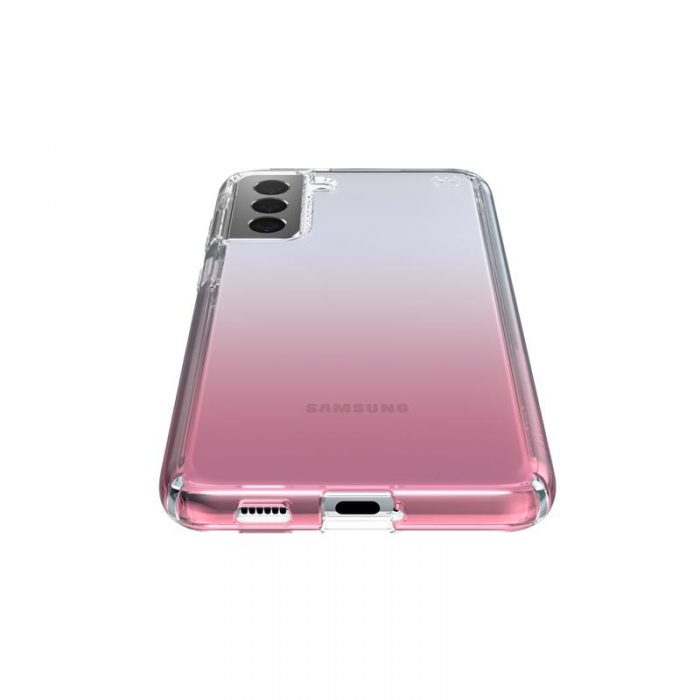 s21 plus - speck presidio perfect-clear + ombre - case samsung galaxy s21+ with microban (clear/atmosphere fade) - 3 - krytarna.cz