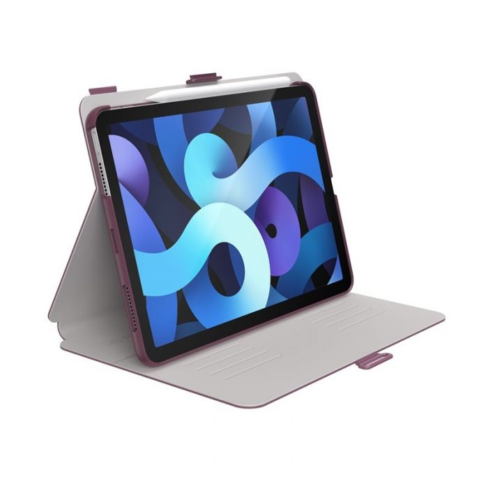 ipad air 4 2020 - speck balance folio apple ipad air 4 10.9 (2020) / ipad pro 11 (2020 / 2018) microban (arcadia navy/moody grey) - 1 - krytarna.cz