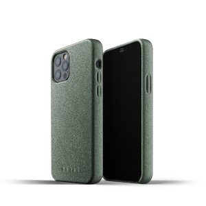 iPhone 12 Pro - Mujjo Full Leather Case Apple iPhone 12/12 Pro (green) - 1 - krytarna.cz