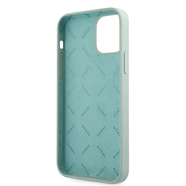iphone 12 pro max - guess guhcp12llsvsbf apple iphone 12 pro max blue fuschia hardcase silicone vintage - 7 - krytarna.cz