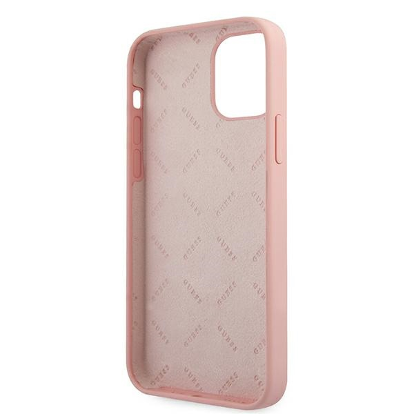 iphone 12 pro max - guess guhcp12llsvspg apple iphone 12 pro max green pink hardcase silicone vintage - 7 - krytarna.cz