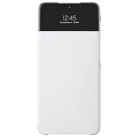more a series - samsung galaxy a32 5g ef-ea326pw white s view wallet cover - 1 - krytarna.cz