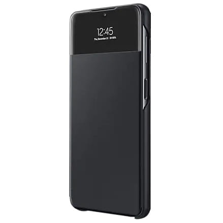 more a series - samsung galaxy a32 5g ef-ea326pb black s view wallet cover - 1 - krytarna.cz