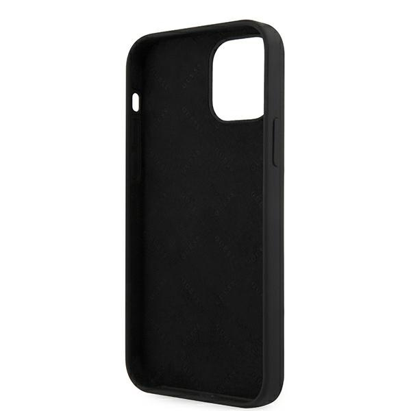 iphone 12 mini - guess guhcp12slsvsbk apple iphone 12 mini black hardcase script vintage - 7 - krytarna.cz