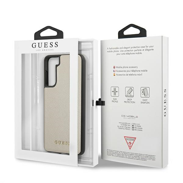s21 plus - guess guhcs21miglgo samsung galaxy s21+ plus gold hard case iridescent - 8 - krytarna.cz