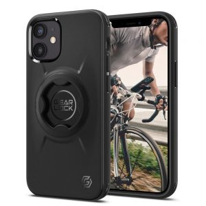 iPhone 12 mini - Spigen Gearlock GCF133 Bike Mount Case Apple iPhone 12 mini Black - 1 - krytarna.cz