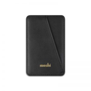 Other accessories - Moshi Slim Wallet (System SnapTo™) (Jet Black) - 1 - krytarna.cz