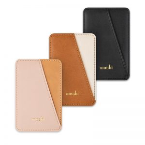Other accessories - Moshi Slim Wallet (System SnapTo™) (Luna Pink) - 1 - krytarna.cz