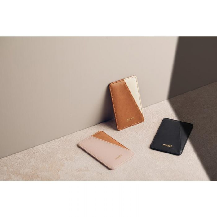 other accessories - moshi slim wallet (system snapto™) (luna pink) - 5 - krytarna.cz