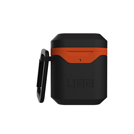 airpods - uag urban armor gear v2 apple airpods 1/2 (black/orange) - 2 - krytarna.cz