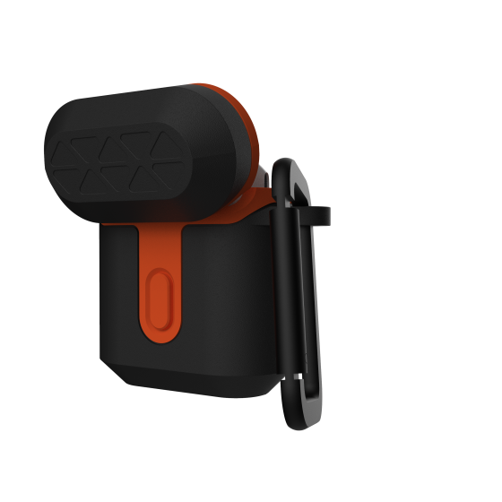 airpods - uag urban armor gear v2 apple airpods 1/2 (black/orange) - 3 - krytarna.cz