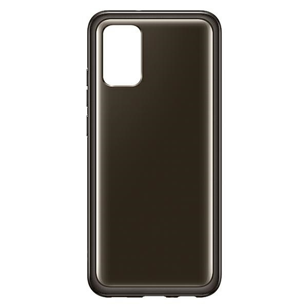 more a series - samsung galaxy a02s ef-qa026tb clear cover black - 5 - krytarna.cz