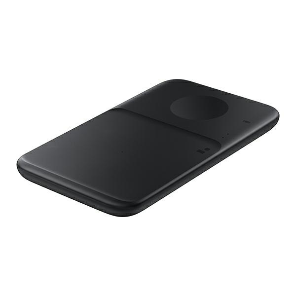 wireless chargers - samsung duo wireless charger ep-p4300tb black - 2 - krytarna.cz