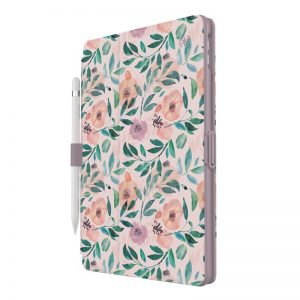 iPad 7/8 10.2 2019/2020 - Speck Balance Folio Apple Pad 10.2 8 (2020) / 7 (2019) MICROBAN (Watercolor Roses / Washed Lilac) - 1 - krytarna.cz