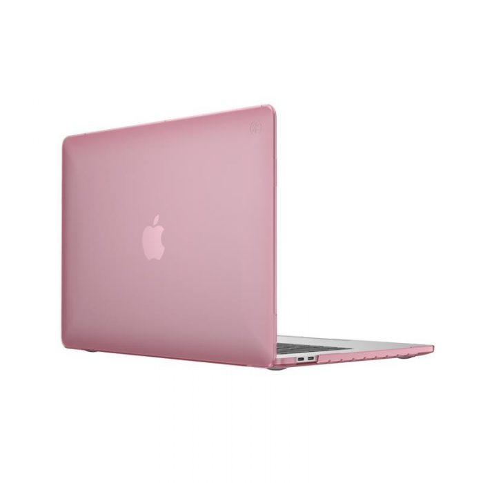 macbook - speck smartshell case apple macbook pro 13 (2020 2 ports/apple m1 chip) (crystal pink) - 2 - krytarna.cz