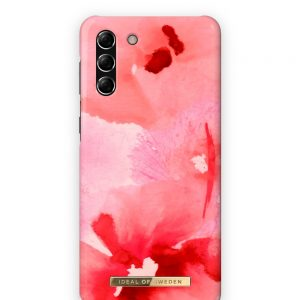 S21 Plus - iDeal of Sweden Fashion Samsung Galaxy S21+ Plus (Coral Blush Floral) - 1 - krytarna.cz