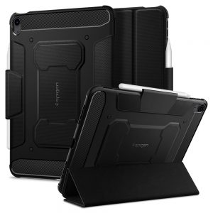 iPad Air 4 2020 - Spigen Rugged Armor Pro Apple iPad Air 4 2020 Black - 1 - krytarna.cz
