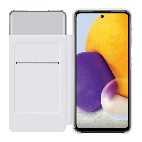 a72 5g - samsung galaxy a72 5g ef-ea725pw white s view wallet cover - 3 - krytarna.cz