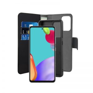 A52 5G - PURO Wallet Detachable 2in1 Samsung Galaxy A52 (black) - 2 - krytarna.cz