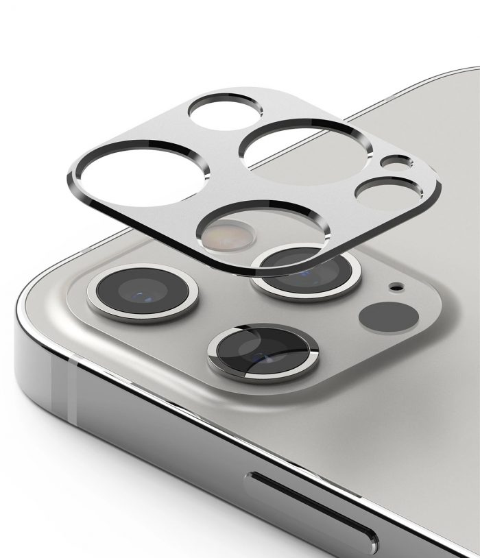 iphone 12 pro max - ringke camera styling apple iphone 12 pro max silver - 1 - krytarna.cz