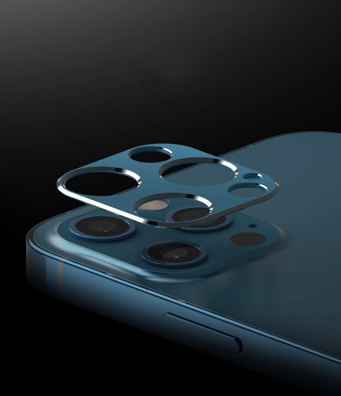 iphone 12 pro max - ringke camera styling apple iphone 12 pro max silver - 2 - krytarna.cz