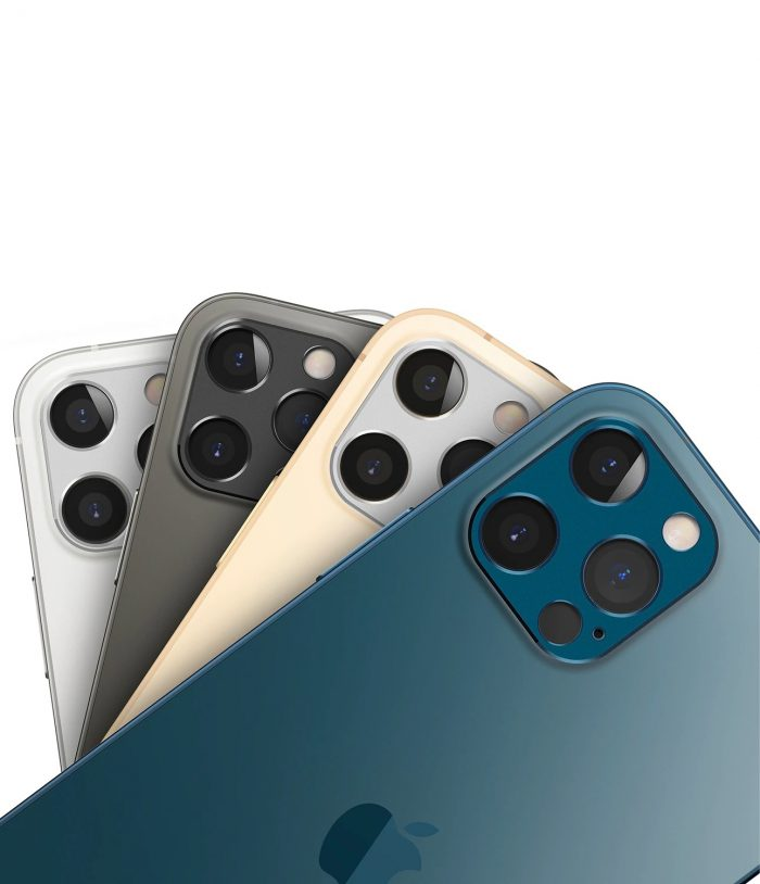 iphone 12 pro max - ringke camera styling apple iphone 12 pro max silver - 4 - krytarna.cz