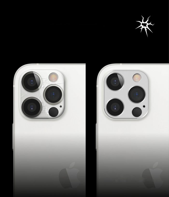 iphone 12 pro max - ringke camera styling apple iphone 12 pro max silver - 5 - krytarna.cz