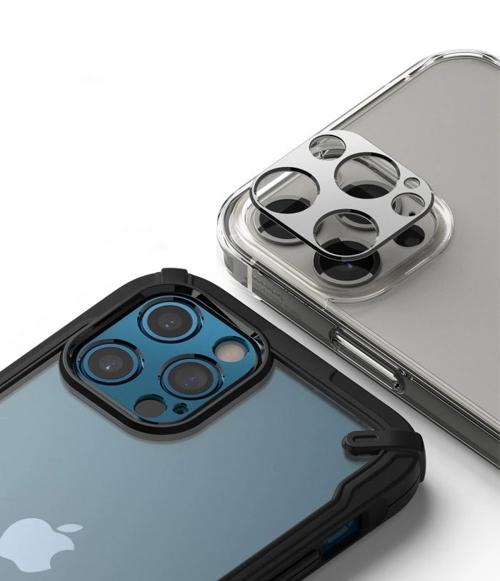 iphone 12 pro max - ringke camera styling apple iphone 12 pro max silver - 8 - krytarna.cz