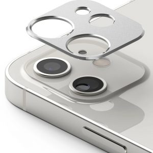 iPhone 12 - Ringke Camera Styling Apple iPhone 12 Silver - 1 - krytarna.cz