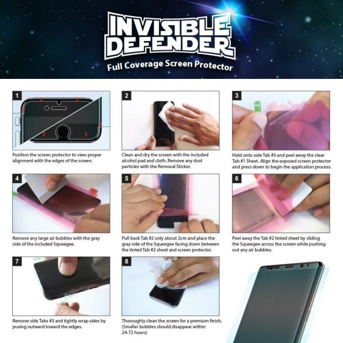 - ringke invisible defender samsung galaxy note 8 full cover - 6 - krytarna.cz