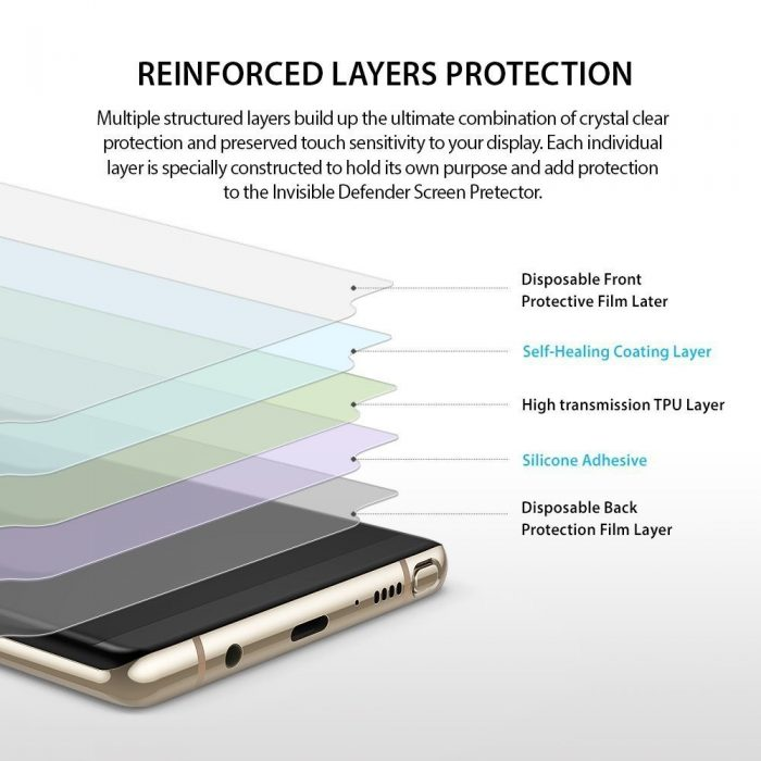 - ringke invisible defender samsung galaxy note 8 full cover - 7 - krytarna.cz