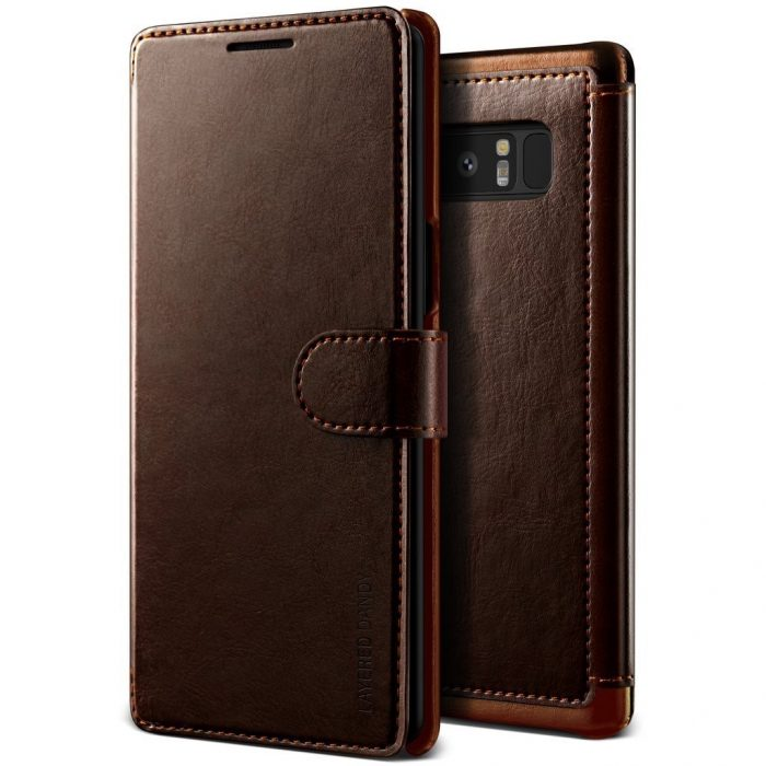 - vrs design layered dandy galaxy note 8 brown - 1 - krytarna.cz