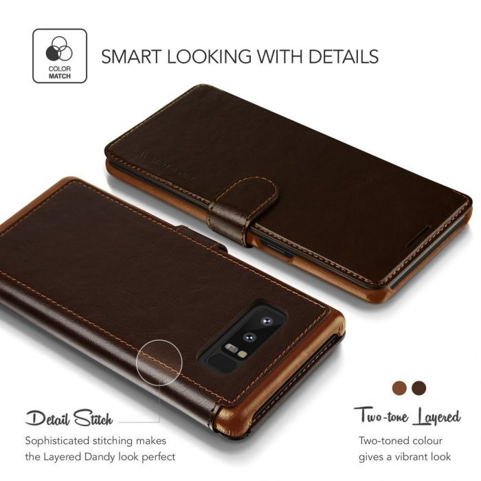 - vrs design layered dandy galaxy note 8 brown - 4 - krytarna.cz