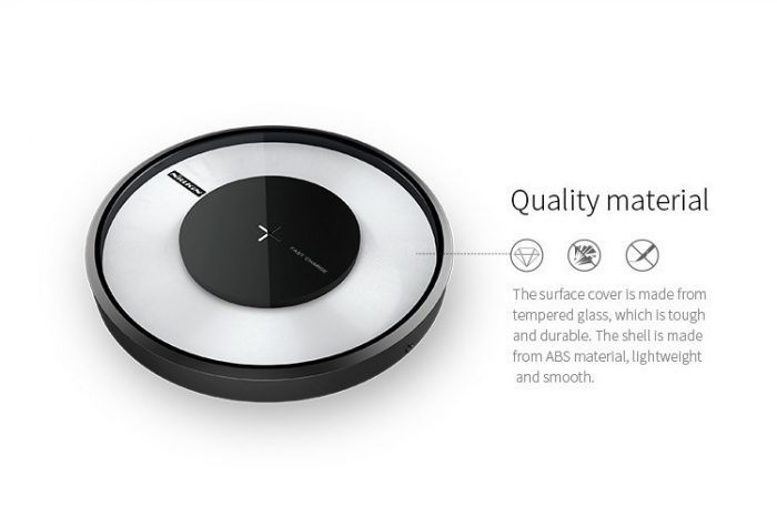 nillkin magic disk 4 fast qi wireless charger - export 3136