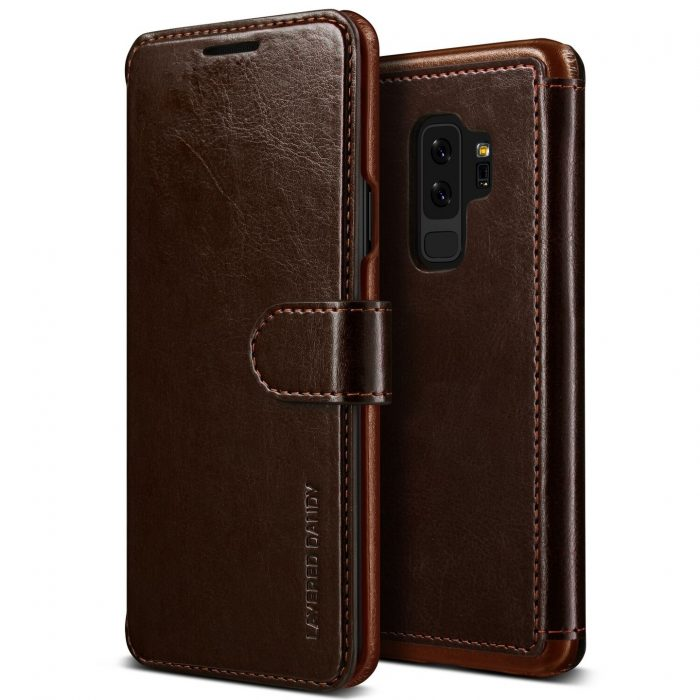 - vrs design layered dandy samsung galaxy s9 plus brown - 1 - krytarna.cz