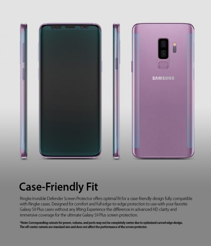 - ringke invisible defender samsung galaxy s9 plus full cover - 4 - krytarna.cz