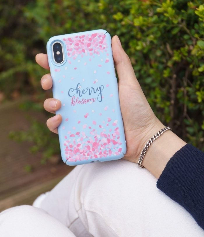 iphone xs - ringke slim cherry blossom iphone xs/x 5.8 sky blue - 8 - krytarna.cz