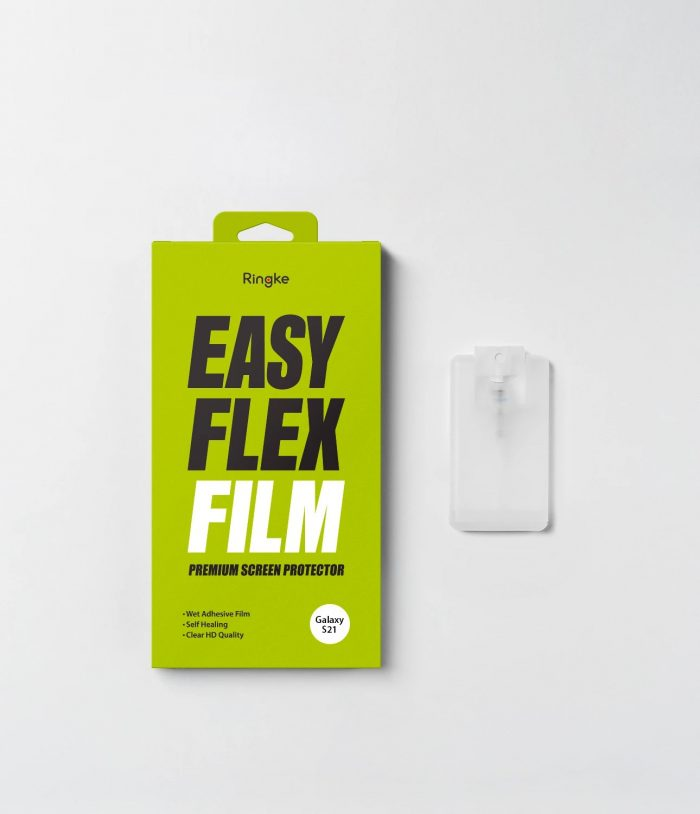 ringke easy flex samsung galaxy s21+ plus [2 pack] - export 358