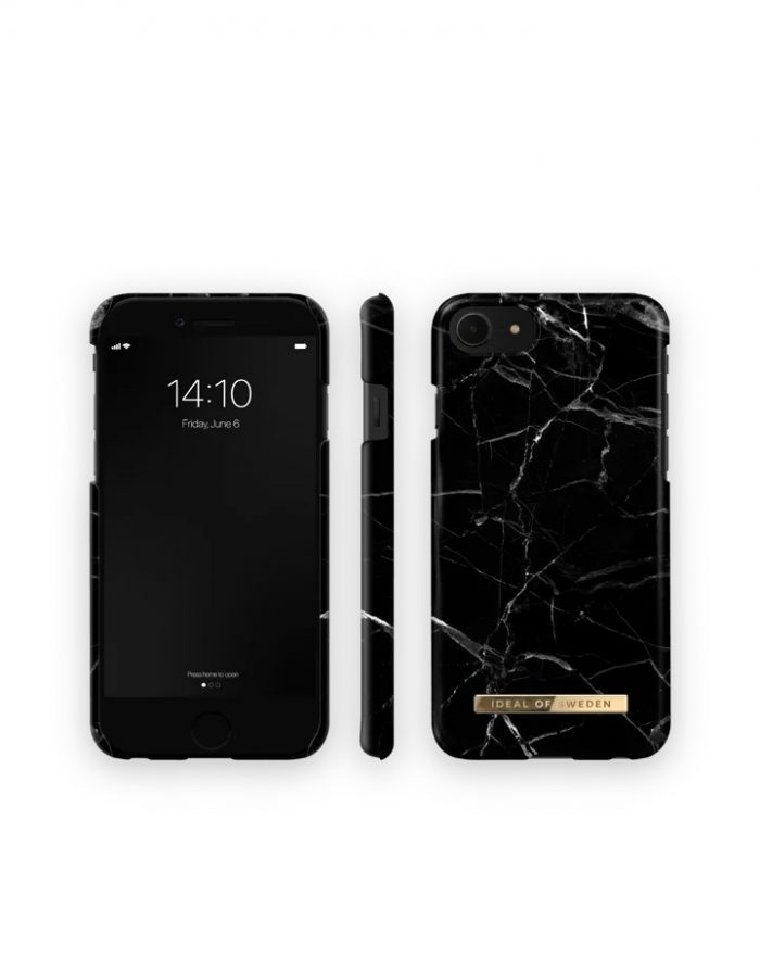 iphone se 2020 - ideal of sweden fashion apple iphone se 2020/8/7 (black marble) - 3 - krytarna.cz