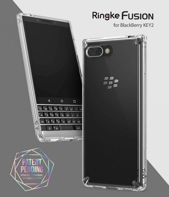 - ringke fusion blackberry key2 smoke black - 2 - krytarna.cz