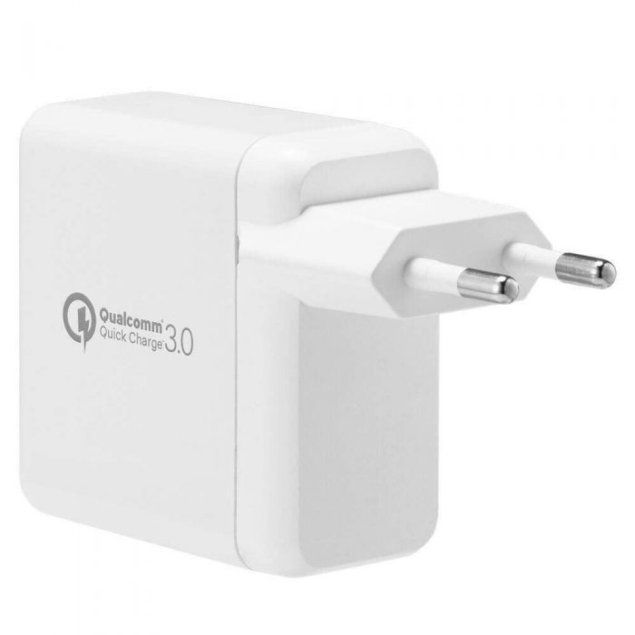 cables - spigen wall charger f207 quick charge 3.0 white - 5 - krytarna.cz
